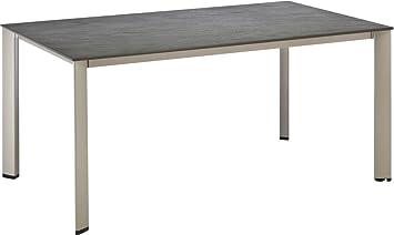 Kettler Table de Jardin Balcon 160 x 70 x 74 cm en Aluminium ...