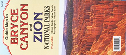 Guide Map to Bryce Canyon and Zion National Parks