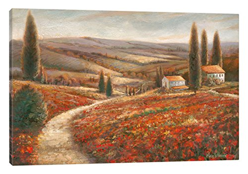 iCanvasART Tuscan Palette Canvas Print by Ruane Manning, 12