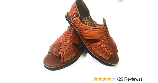 0cae7e56f5d4 Amazon.com  EL CHARRO Mens Huarache Sandals. Mexican Sandals. Huaraches  Mexicanos  Sports   Outdoors