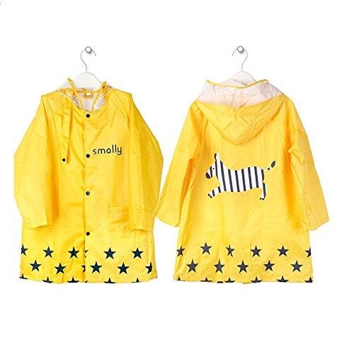 Regenjacken sind für Kinder in den unterschiedlichsten Farben und Designs erhältlich.