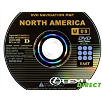 New Genuine OEM Generation 2/3 Lexus Navigation Update DVD, (13.1) U08, East Region