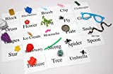 Alphabet Object Set - BLENDS Words Alphabet Objects and Cards - Language Tubs Miniatures- Montessori Miniture Objects for words with Blends - blue series - Phonics - Reading Preschool - Teacher Supply - Language Objects - Special Education, Early Childhood Education