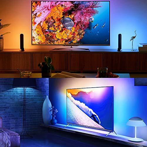 Aogled Tira LED 10M,Bluetooth Tiras LED con Control de APP y Control Remoto de 40 Teclas,5050 SMD Luces LED Habitacion RGB con Sincronización de Música,para Interior,Dormitorio,Sala de Estar,Fiesta