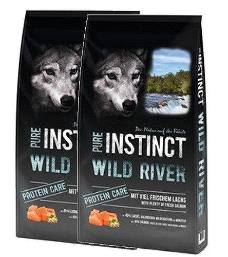 Schock´s PURE INSTINCT Wild River mit Lachs Protein Care 2x12kg