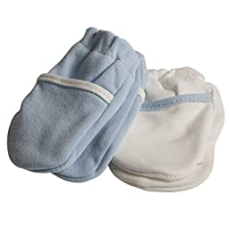 Safety 1st No Scratch Mittens, Blue