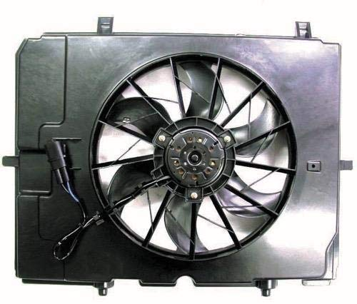 Radiator Cooling Fan Assembly 001 500 35 93 MB3115117 Replacement 2001 2002 Go-Parts for 2000-2003 Mercedes-Benz E320 Engine