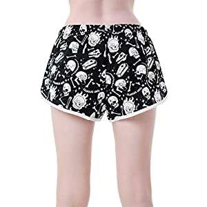 Killstar Pyjama Shorts – Drowsy