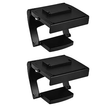 Magideal 2pcs Soporte de Montaje de Clip de Abrazadera de TV Para Sensor Kinect Xbox One