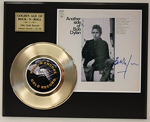 Bob Dylan Gold Record Signature Series