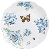 Lenox Butterfly Meadow Assorted Blue Dessert