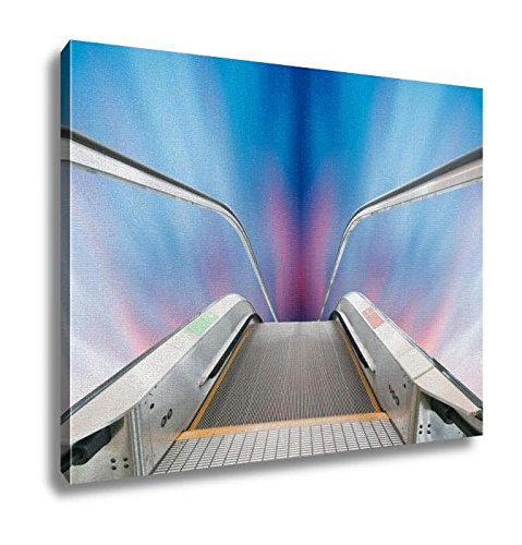 Ashley Canvas, Escalator To The Sky, Home Decoration Office, Ready to Hang, 20x25, AG6398770 by Ashley Canvas