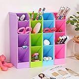 Zollyss Plastic Organizer Storage Box Tie Bra Socks Drawer Cosmetic Kitchen Small Items Organiser Box(Set of 2)