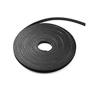 5 Meters GT2 Timing Belts Width 6mm GT2-6mm Belt fit for most of DIY 3D Printing Printer (Creality CR-10 /CR-10S ; RepRap Prusa i3 /Anet A8… by UCHOOSE3D Printing