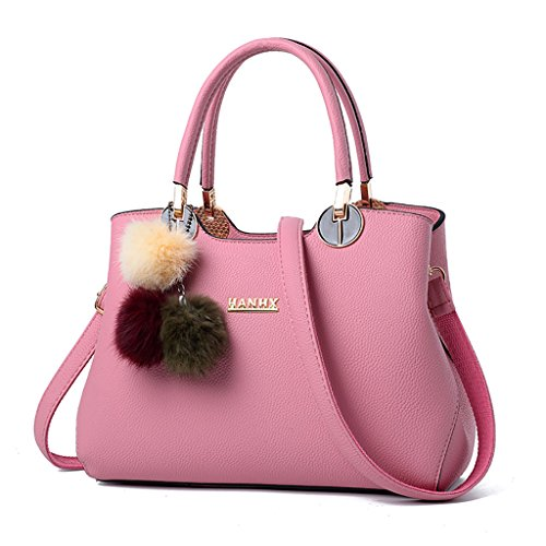 Ladies Rose Bag coréenne CLOTHES Handbag vague de Hand Clair Bag Couleur Big Fashion la version Nouvelle Noir Portable Bag Capacity Shoulder Wild High q1ddSxC