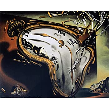 Eurographics The Melting Watch By Salvador Dali Art Print Poster 1975 X 1575