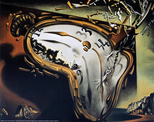 - EuroGraphics The Melting Watch by Salvador Dali. Art Print Poster 19.75 x 15.75