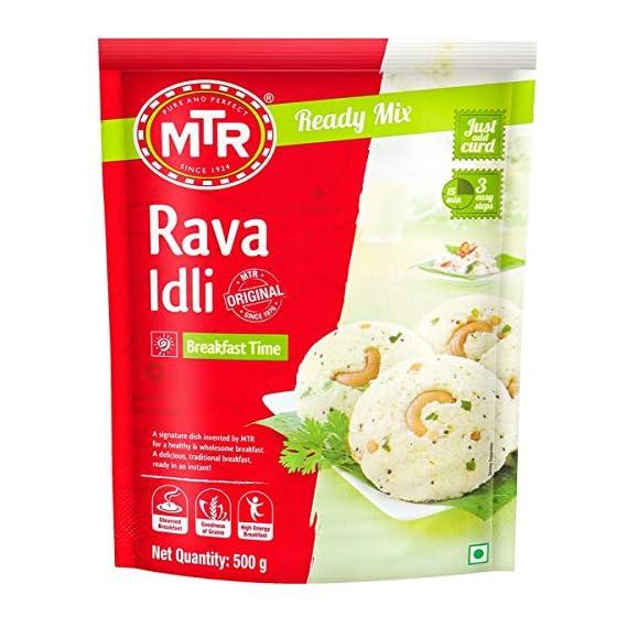 MTR Rava Idli breakfast Mix, 500g