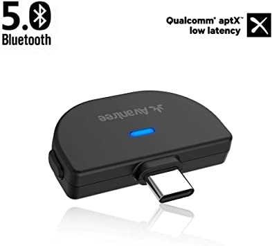 Avantree C51 USB Tipo-C Bluetooth 5.0 Adaptador transmisor de Audio para Nintendo Switch, Compatible con AirPods, Soporta 2 Auriculares Bluetooth, Bluetooth Dongle para PS4 PC Mac, Sin Retardo: Amazon.es: Electrónica
