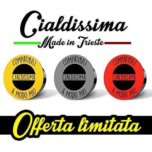 200 CAPSULE Caffè Cialdissima compatibili LAVAZZA A MODO MIO