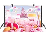 ST 9 X 6 FT Photography Backdrop Candy Colors Background for Children Birthday Party Backdrop or YouTube Background Props ST960068