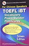 TOEFL iBT Vocabulary Flashcard Book (Taiwan Edition) (English as a Second Language Series)