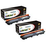 Catch Supplies Replacement TN225BK Black Toner Cartridge 2 Pack for the Brother TN-225BK / TN221BK |2,500 yield| compatible with the Brother HL-3140,3142,3150,3152,3170,3172, MFC-9130,9140, DCP-9020