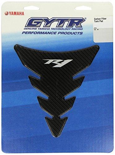 Yamaha 14B-F41D0-V0-00 Carbon Fiber Look Tank Pad for Yamaha - Yamaha R1 Carbon