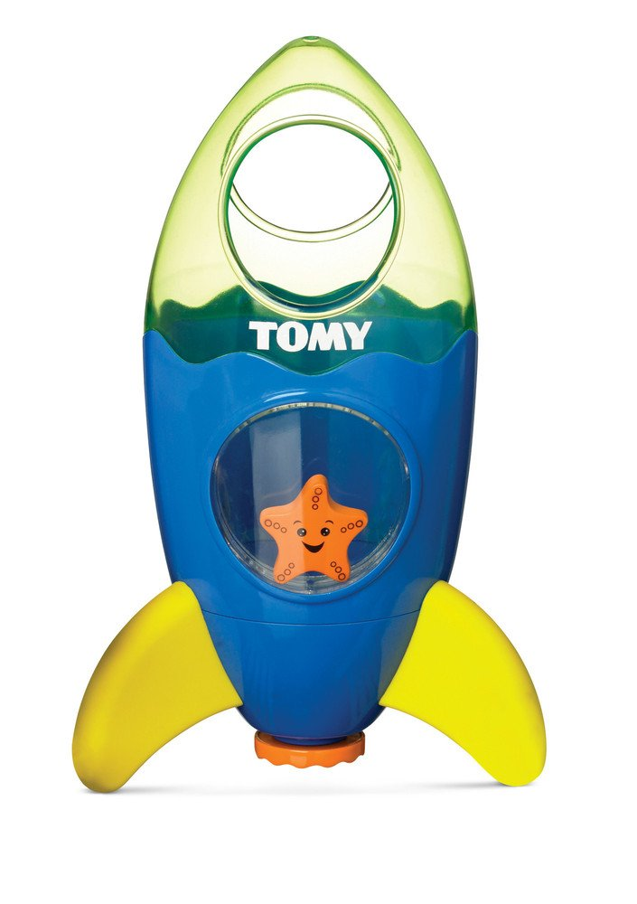 Toomies Fountain Rocket Preschool Children's Bath Toy TOMY Bath Toys E72357