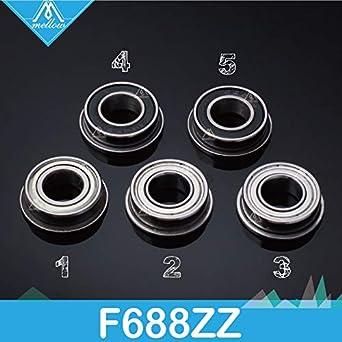 Amazon.com: GIMAX 10pcs/lot F688-2Z F688ZZZ F688 zz F628/8ZZ ...