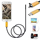 Bestpriceam 10M/5M/2M 6 LED 5.5mm Lens 2IN1 Android Endoscope Inspection Waterproof Camera (10M)