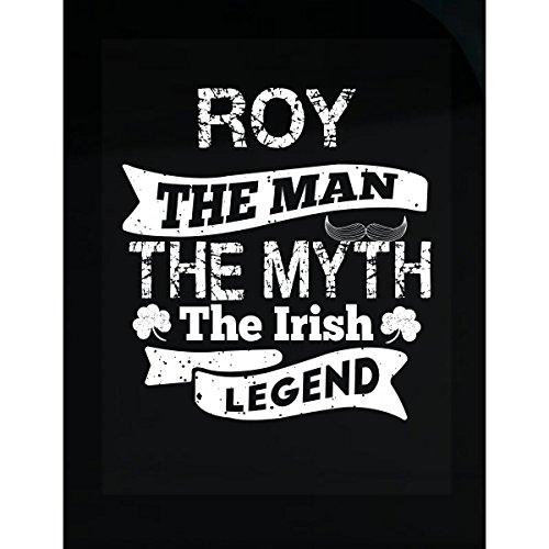 Prints Express Roy Man Myth Irish Legend Funny St Patricks Day - Sticker