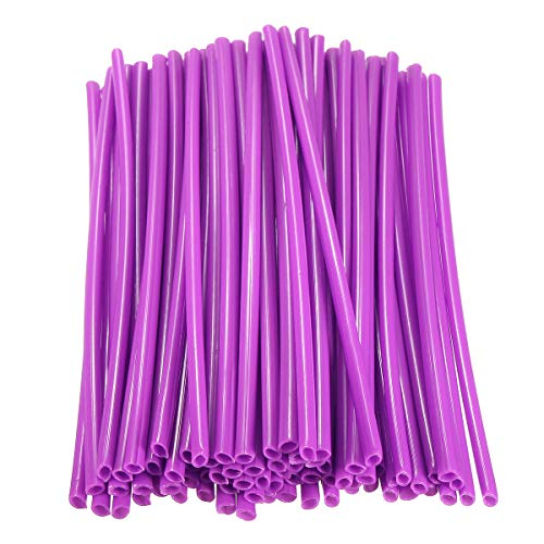 Wheel Spoked Wraps Skins Universal Trim Cover Pipe For SX SXF XC Motocross Pit Dirt Bike - Motorcycle Motorcycle DIY Kits - (Purple) - 1 X Pack Wheel Spoked Wraps (72pcs)