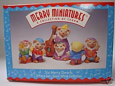 Hallmark Merry Miniatures Six Merry Dwarfs
