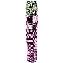 MicFX SF004 Crystal Slip-On Wireless Microphone Sleeve - Pink