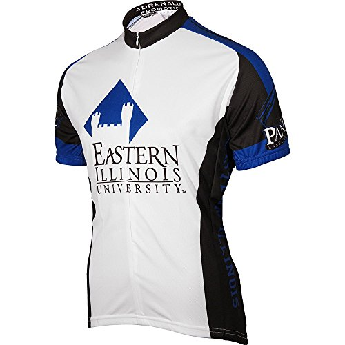 Illinois Cycling Jersey - Adrenaline Promotions NCAA Men's Eastern Illinois Panthers Cycling Jersey (Small)