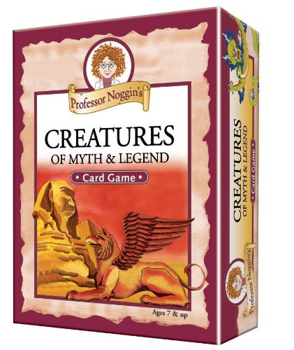Educational Trivia Card Game - Professor Noggin's Creatures of Myth and Legend