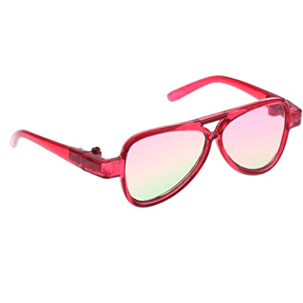 ab91399542 Image Unavailable. Image not available for. Color  MonkeyJack Cool BJD Oval  Frame Glasses Eyeglass ...