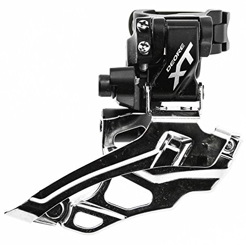 SHIMANO DEORE XT FD-M786 2 x 10s Bike Front Derailleur Clamp Mount 34.9mm NEW by Shimano