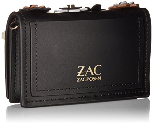 Black Black Card Chain Posen with ZAC Credit Earthette Case Zac qz4nxZ8wa