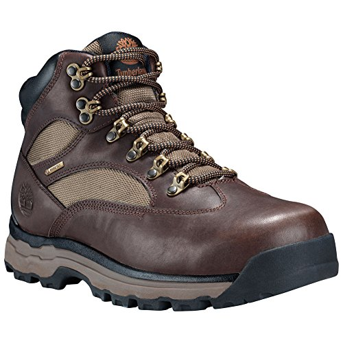 Timberland Men's Chocorua Trail 2.0 Waterproof Hiking Boots Dark Brown/Green 11.5 W (Timberland Chocorua Trail Boots)