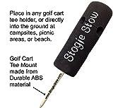 Stogie Stow Cigar Holder - Golf Cart Tee Mount