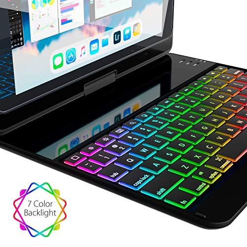 iPad Case iPad 2017 iPad 2 Thin 360 - - 7 Color - iPad Case Keyboard