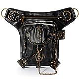 Search : OURBAG Steampunk Waist Leg Hip Holster Purse Vintage Pouch Belt Bag