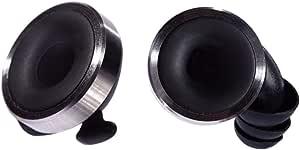Knops - Protección para los oídos con 4 filtros diferentes - Color negro