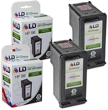 Amazon.com: LD tinta negra Refill Kit for C8767WN Hewlett ...
