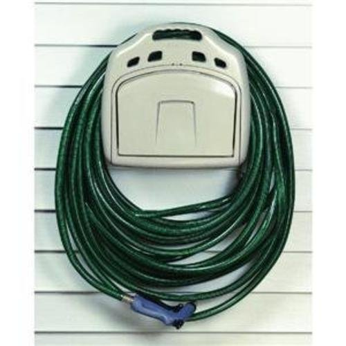(The Ames Companies, Inc 2382561 Poly Hose Hanger with Storage Bin and 150-Foot)
