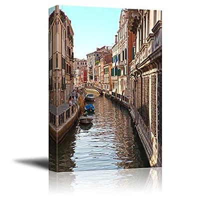 Classic Design, Delightful Portrait, Venice Canal Wall Decor