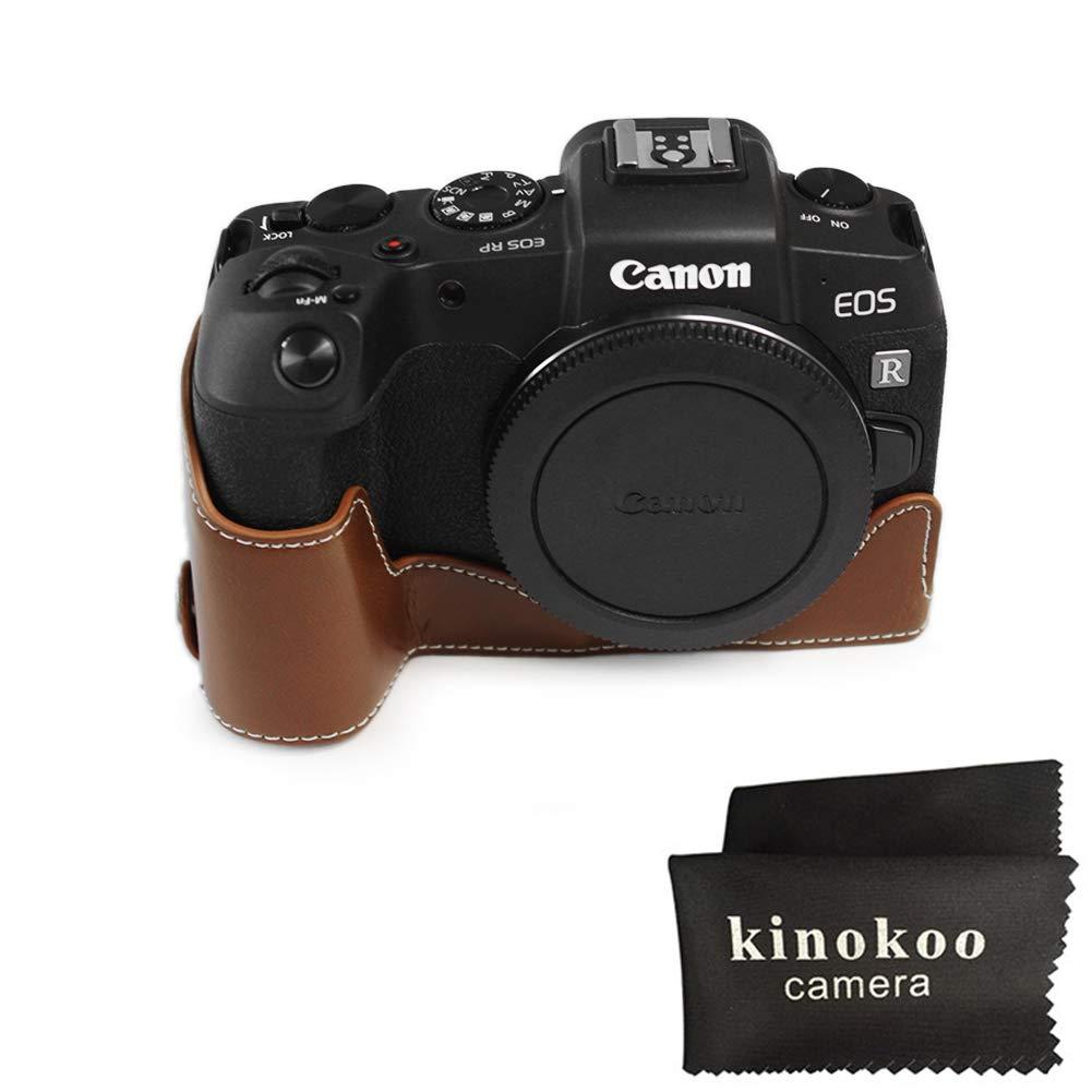 kinoko Estuche de Cuero de PU para Canon EOS RP Estuche ...