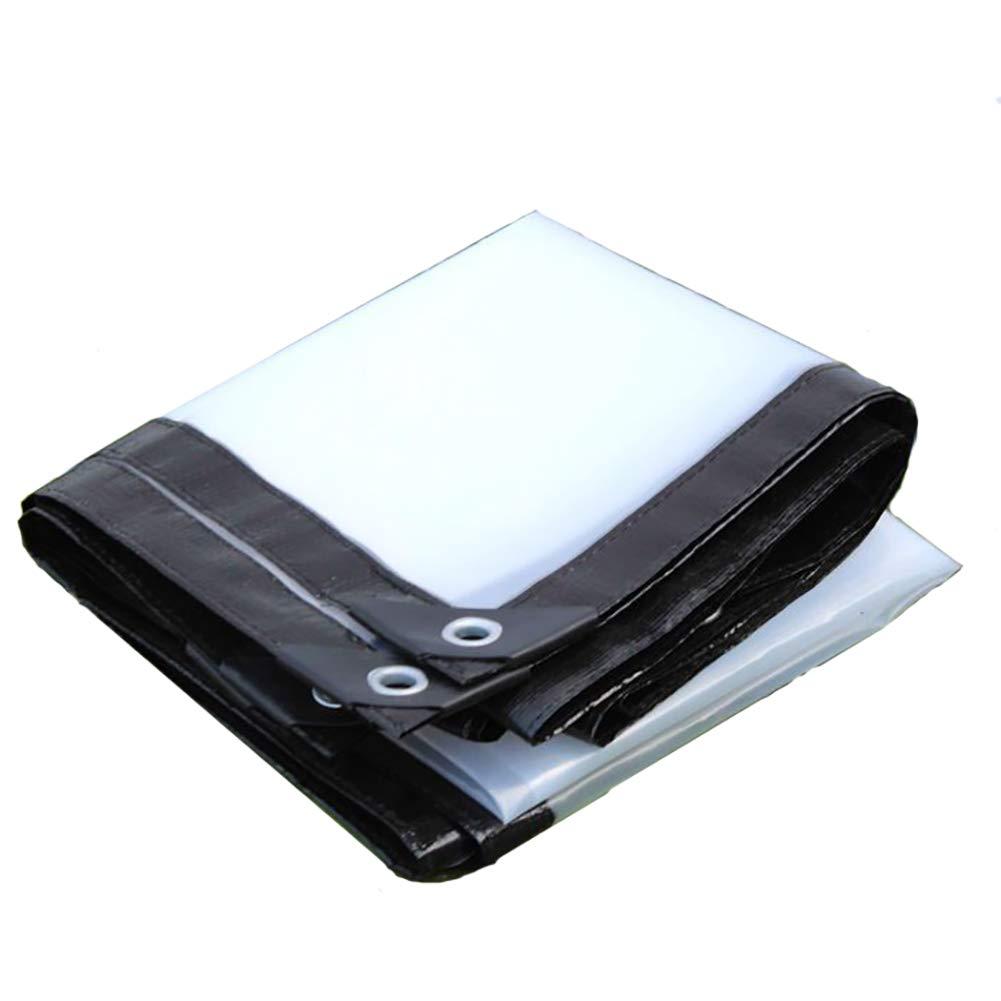 WDXJ Teloni Trasparenti a Prova di Pioggia Piante da Serra Tende da Sole Telone da Esterno in plastica per Tende da Sole (Dimensioni   4m×5m)